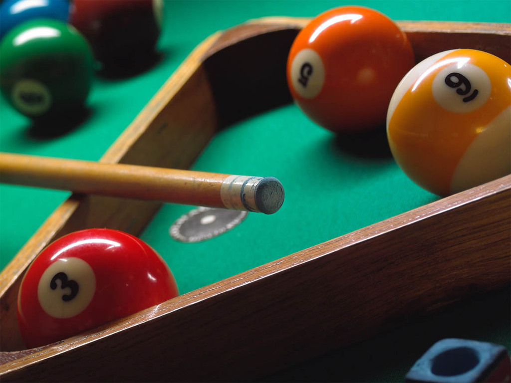 closeup depositphotos stock of on billiard illustration table pool balls a by photo