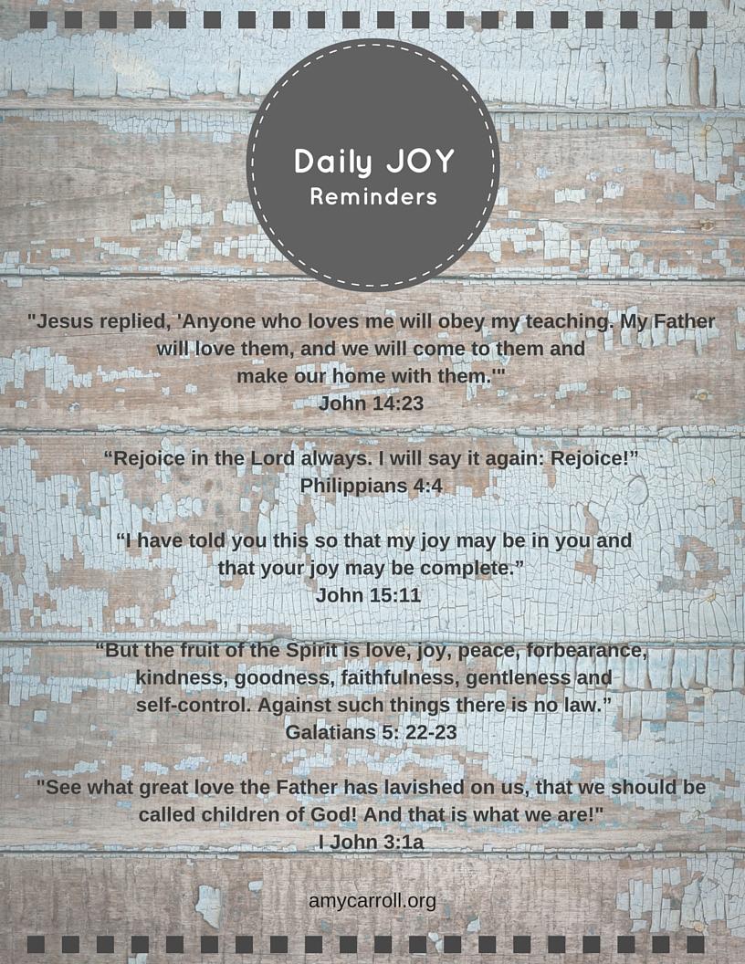 Joy Reminders