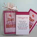 Braver Living Bible verse cards