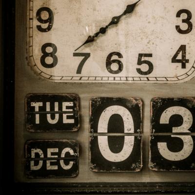 When You're Facing an Empty Calendar
