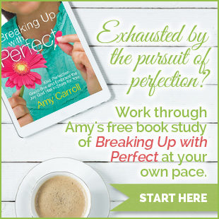 Breaking Up with Perfect online book study