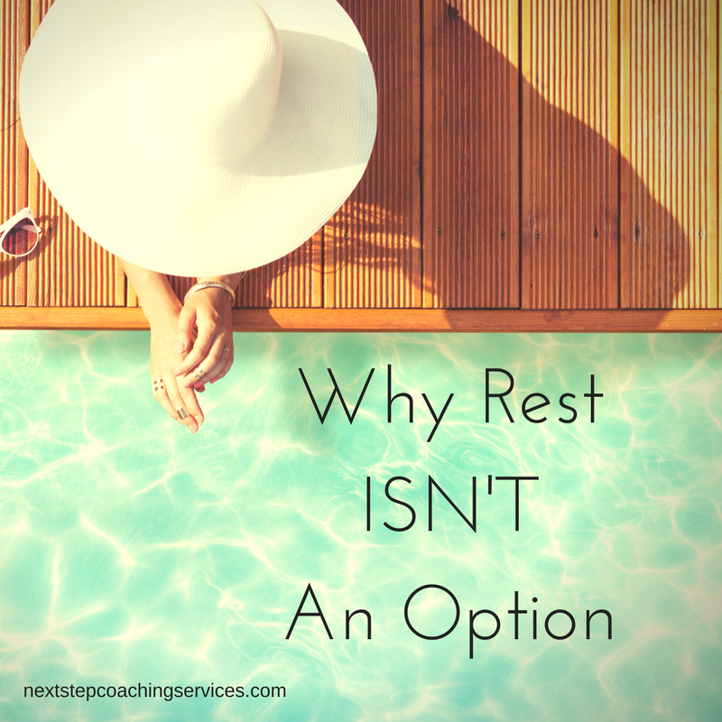 Why Rest Isn't an Option